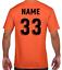 miniature 11 - Personalised Printed KIDS Football Style T-Shirt Boys Girls Tee Top