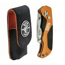 Klein Tool Folding Utility Knife w/ Wire Stripper and Holder