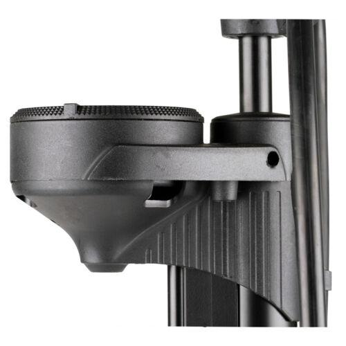Heyner Germany Heavy Duty Floor Hand Pump Gauge 10 Bar 140 PSI XL hose Stabil