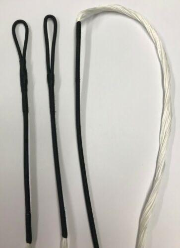 "Recurve Bowstring Traditional B55 Bowstrings 64/"" AMO WHITE 16 strand"