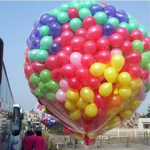 """1 to 250 12/"""" 19 Colors High Quality Pearl Latex Thick Party Balloons 3.2g Helium"""