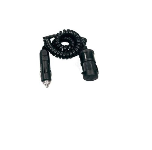 10 Amp 50cm to 80cm Car Van Truck Singiel Lighter Socket Extension Cord 12//24V