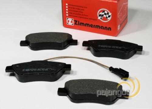 Zimmermann Bremsbeläge Bremsklötze mit Warnkabel für vorne Fiat Fiorino 225