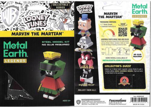 Looney Tunes Marvin Martian Metal Earth Legends 3-D Laser Cut Steel Model Kit