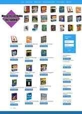 DIGITAL DOWNLOADS WEBSITE STOCKED WITH 100s OF SOFTWARE/EBOOKS/SCRIPTS/ARTICLES