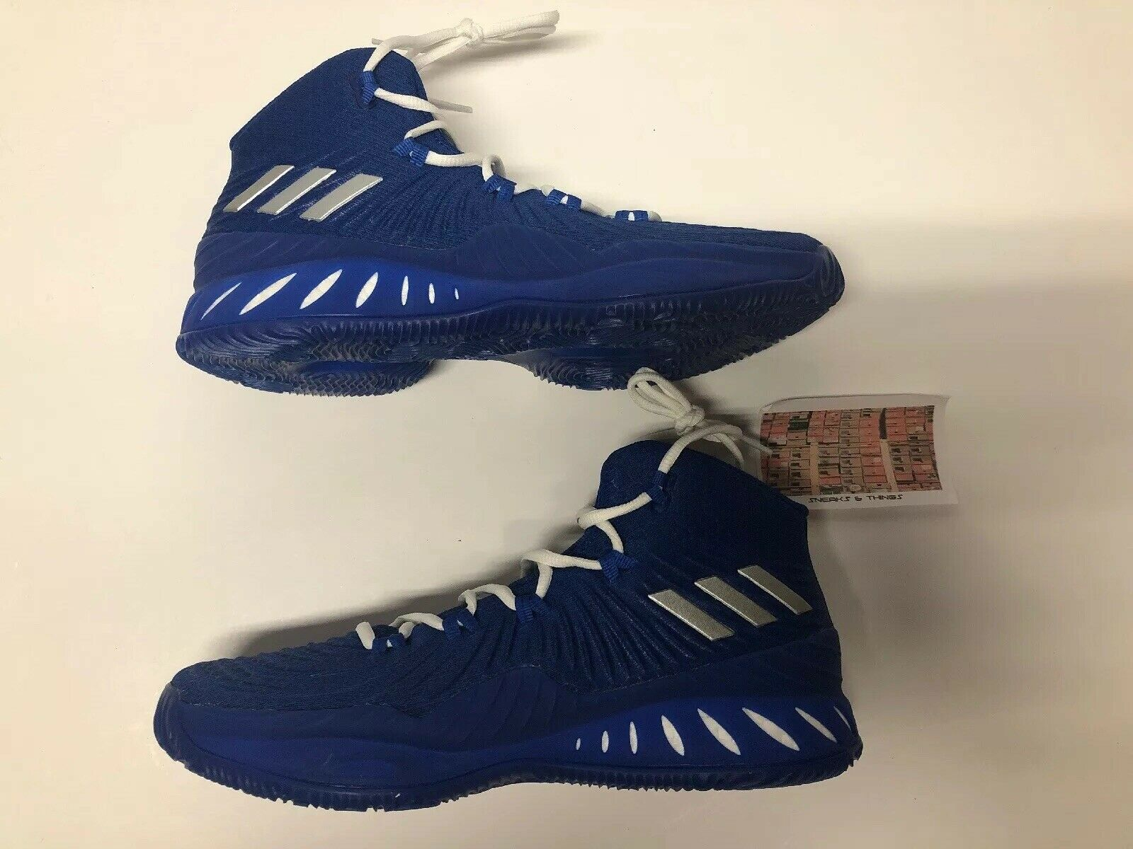Adidas Crazy Explosive 2017 Royal bluee BY3770 New Men's Size 9 Retail  130