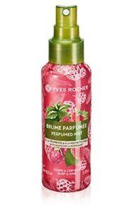 Yves Rocher Perfumed Mist Raspberry Peppermint Perfumed Body Hair Botanical