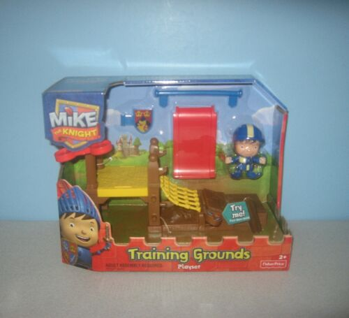 New Fisher-Price HIT Nick Jr. Mike the Knight Training Grounds Playset Toy