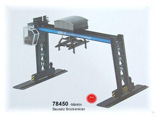 "Aus Märklin 78450 Kunststoff-Bausatz /""Containerkran/"" passend zu 29450 #NEU#"