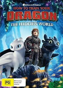 HOW TO TRAIN YOUR DRAGON 3 - THE HIDDEN WORLD Region 4 (Aus) DVD New & Sealed!