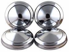 """For Mopar Plymouth Dodge Chrysler 9"""" Dog Dish Hub Caps Poverty Hubcaps"""