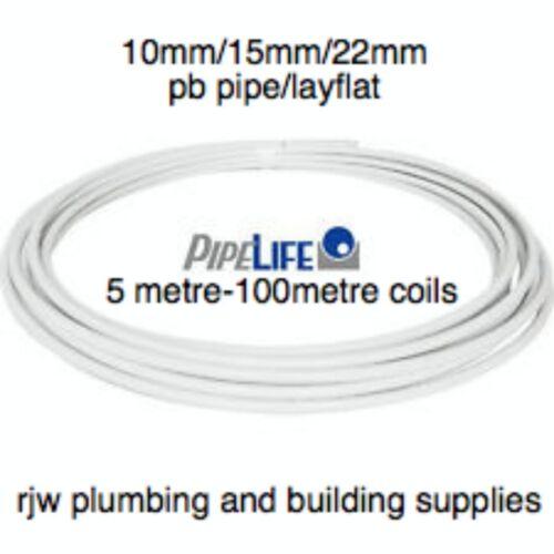 PIPE LIFE WHITE BARRIER PB PIPE PUSHFIT//SPEEDFIT TYPE PIPE//WATER//DIY//PLUMBING
