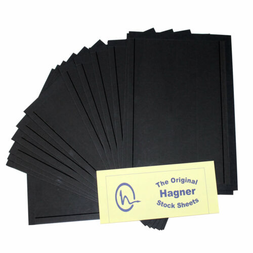 Hagner 1 Pocket Single Sided Half Sheet Full Pack of 100