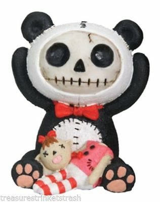 NIB Furry Bones GIRAFFE KIRIN Figurine Skeleton in Costume