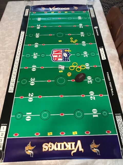 Nfl Minnesota Vikings Finger Football Game By Zelosport Ebay