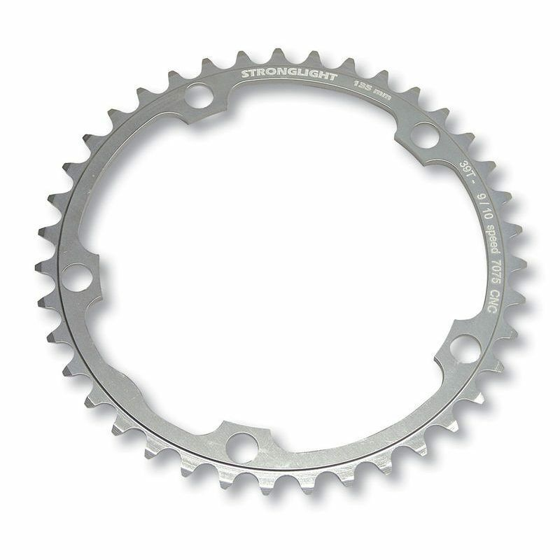 STRONGLIGHT Aluminiumkettingring 135 mm CAMPAGNOLO 40   quick answers