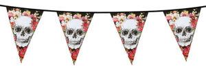 Guirlande-de-fanions-halloween-decoration-day-of-the-dead-squelette-jour-morts