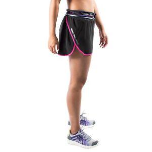 8d6202206633 Women s PUMA Lined Running Shorts Black Dark Grey Pink size XL (T67 ...