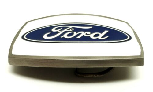 Ford Belt Buckle Car Pick Up Spec Cast Authentic Officially Licensed Collectible