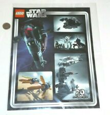 Exclusive Lego Star Wars Anniversary Art Print VIP Collectable NEW 5005888