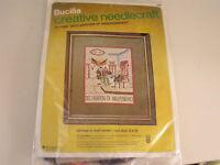 Bucilla Creative Needlepoint Kit 1969 Declaration Of Independence 10x13 Frame