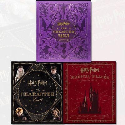 Character Vault Jody Revenson 3 Books Set Harry Potter Collection New AU Hardbac