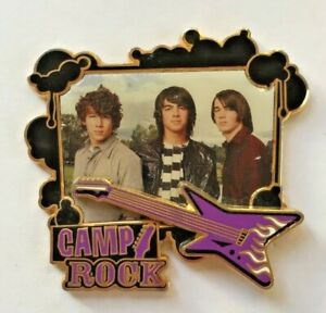 Disney-Pin-Badge-Camp-Rock-The-Jonas-Brothers