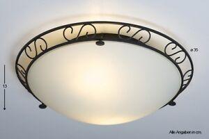 Plafoniere Per Soggiorno Classico : Lampadario da soffitto stile casa di campagna plafoniera classico