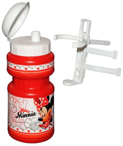 Disney Minnie Mouse mit Halterung Halter für Kinder Fa Fahrradtrinkflasche