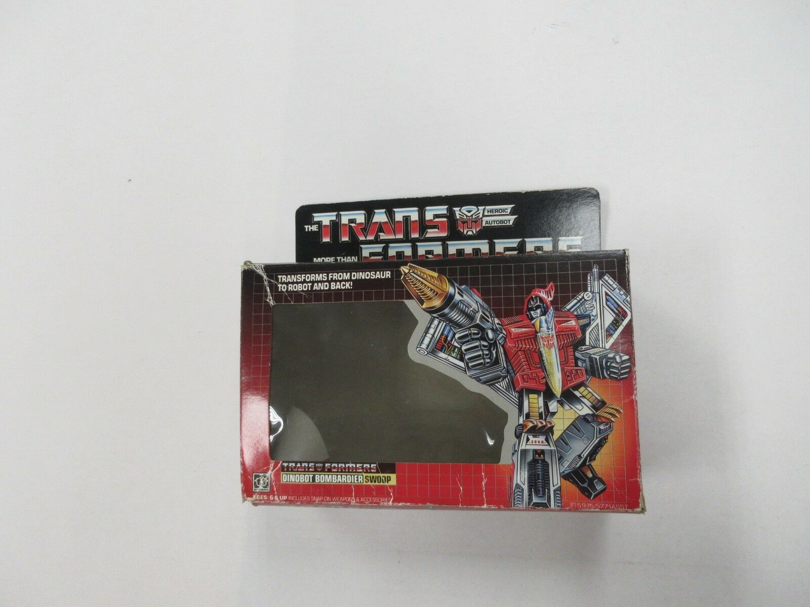 G1 TRANSFORMERS DINOBOT SWOOP EMPTY BOX TO COMPLETE