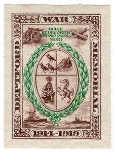 I-B-Cinderella-Collection-Deptford-War-Memorial-Fund-1919