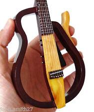 Miniature Guitar Model Lee Ritenour Brian May Queen Silent Acoustic Guitar Rare