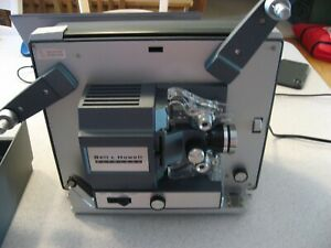 Vintage-Bell-amp-Howell-356-Autoload-Super-8-Projector-in-Original-Box