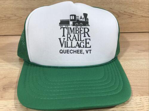 Timber Rail Village Vintage Trucker Style Hat Quec