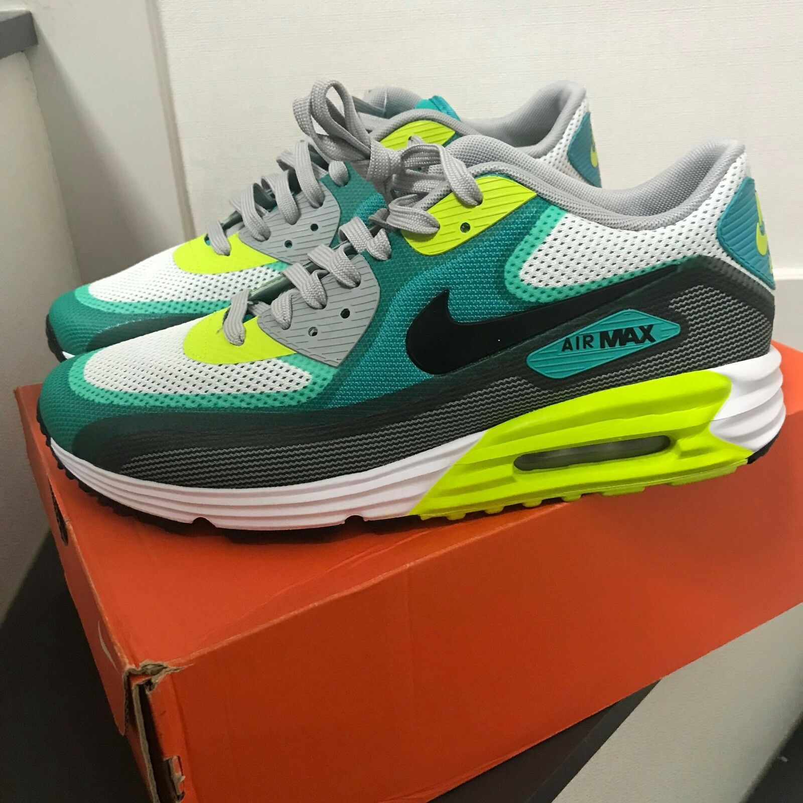 Nike AIR MAX LUNAR90 C3.0 Sneakers shoes 631744-103 Man's Size 10