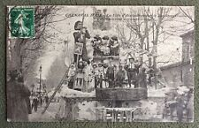 CPA. AIX. 13 - Carnaval d'Aix. 1913. La Ville d'Aix. 25eme Anniversaire. Char.
