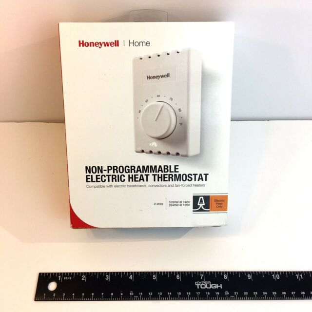Honeywell CT410A Manual Electric Baseboard Thermostat 2 wire