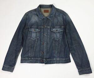 Energie-jeans-XXL-uomo-jacket-denim-giacca-giubbino-vintage-usato-bomber-T4506