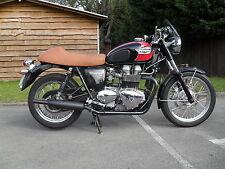 Triumph Bonneville Exhausts Genuine Norman Hyde Classic BLACK Toga silencers