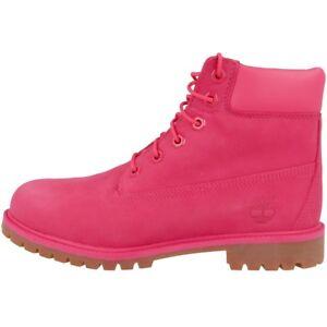 big sale 71b10 3fcd8 Detalles de Premio botas botas ocio de Timberland 6 pulgadas botas rosa  A1ODE clásico rojo- ver título original