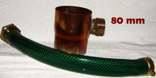 Rain Water Collector 80 mm Copper Rain Collector Incl Hose Connection Set