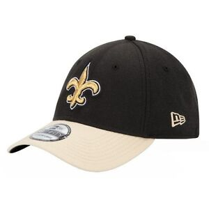 quality design 884ce 874b9 Image is loading New-Orleans-Saints-New-Era-39Thirty-NFL-Carbon-