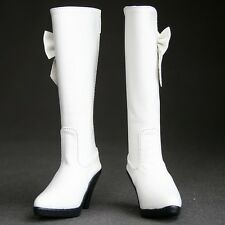 [wamami]1/3 Leather High heels Boots ~ White For BJD SD Dollfie