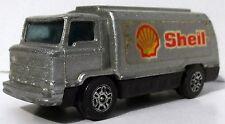 SHELL Petrol Tanker Tankwagen Corgi Juniors silber metallic ca. 1:87 Gt.Britain