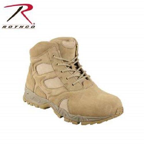 *NEW* Light Weight Forced Entry Desert Tan Deployment Boot