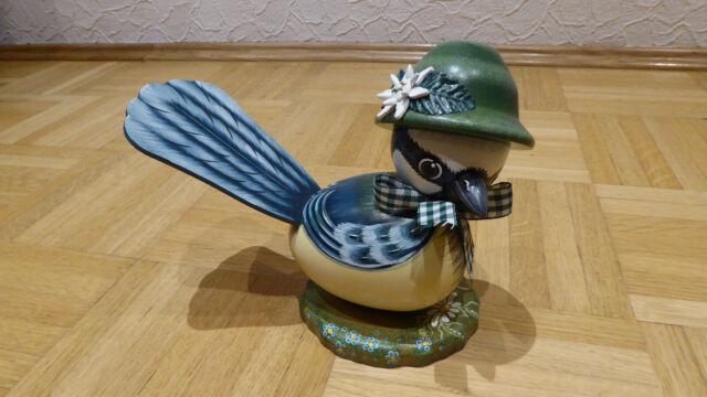 Blaumeisenseppl Ergebirgische Volkskunst 16 cm Hubrig Manufaktur 303h3001/I0180