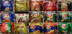 New-17-FLAVORS-LAY-039-S-Lay-Potato-CHIPS-CRISPY-SNACK-FOOD-THAI-BBQ-LOBSTER-SQUID