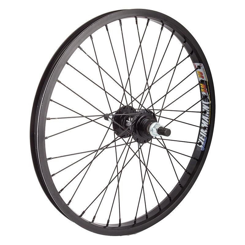 WM Wheel  Rear 20x1.75 406x24 Wei Dm30 Bk 36 Aly Fw 1sp Ff 14mm Bk 110mm 14gbk
