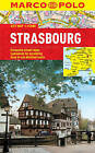Strasbourg Marco Polo Laminated City Map by Marco Polo (Sheet map, folded, 2017)