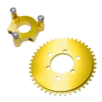"""Blue 1.0 Inch CNC Spacers For 1.5/"""" Hub Adapter 60//66//80cc Motorized Bike"""